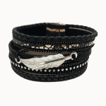 Black Feather Cuff
