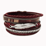 Red Feather Cuff