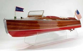 ChrisCraft Runabout #1230 Dumas Boats Wood Model KIT(THIS IS A KIT)