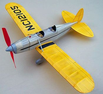 Ryan Sport Trainer Balsa Wood Model Airplane Kit Easy Built #FF18