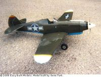 """Tomahawk Curtiss #FF56 50"""" wing Span Easy Built Balsa Wood Model Airplane Kit Rubber Powered"""
