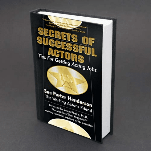 Henderson's Secrets of Successful Actors: Hardcopy Mail Delivery
