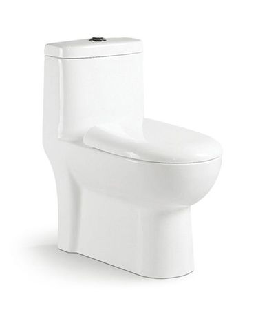 """JULIUS - 24"""" SMALL Toilet - Curvy - NEW IMPROVED G-Max Siphon FLUSH"""