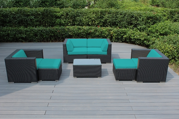 Beautiful Ohana Outdoor Patio Wicker Furniture Deep