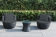 Ohana 3 Piece Outdoor Patio Wicker Furniture Bistro Seating Set