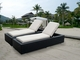 Ohana 11 Piece Outdoor Patio Wicker Furniture Dining and Chaise Lounge Set