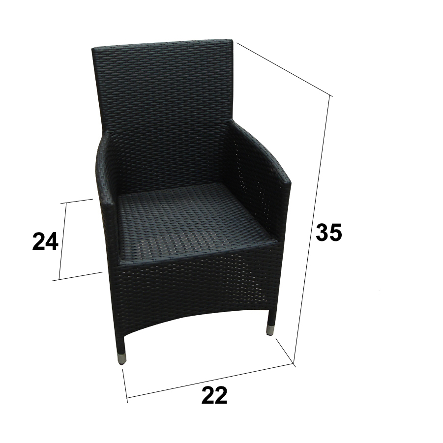 Stupendous Ohana Outdoor Patio Wicker Furniture Two Dining Chairs Alphanode Cool Chair Designs And Ideas Alphanodeonline