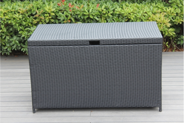 Outdoor Patio Wicker Furniture Cushion Storage Bin Deck Box Large