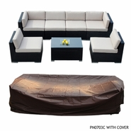 Ohana Outdoor Patio Furniture Protective Cover - Medium - Now $99 with Extra $90 Off