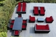Ohana 18 Piece Outdoor Patio Wicker Furniture Sofa and Dining Set  Mineral Blue