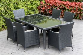 WEEKLY DEAL: Ohana Patio Furniture Dining Set With 6 Chairs: SAVE 40%