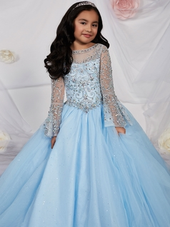 Blue Pageant Dresses for Juniors