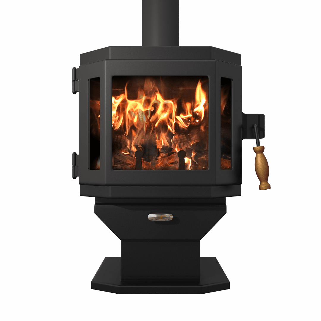 MF FIRE Catalyst Smart Wood Stove