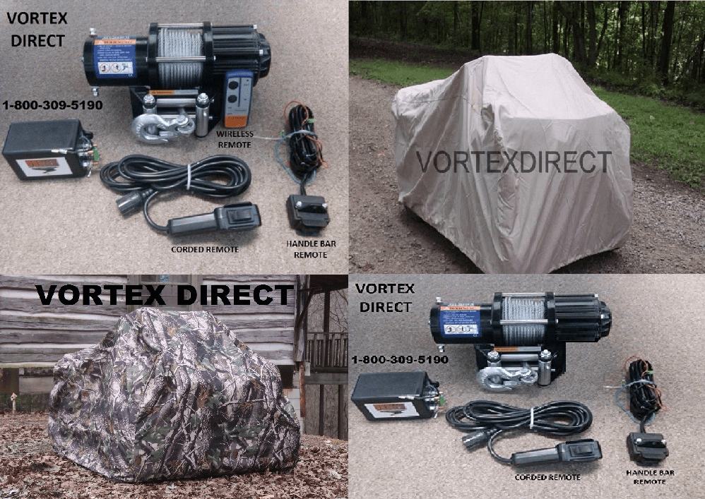 "<FONT COLOR=""030303""> <BOLD> ATV <br>  UTILITY <br> WINCHES & COVERS"