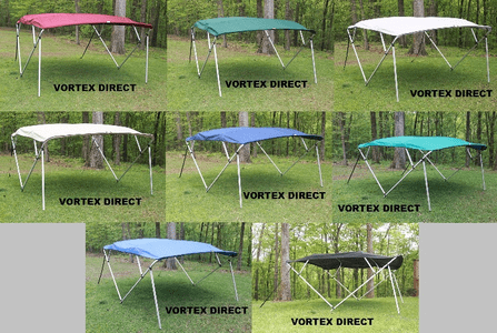 BIMINI TOPS <BR>SQUARE 4 BOW <BR> ( COMPLETE KIT: FRAME, FABRIC, & HARDWARE )<BR>***CALL FOR AVAILABILITY***