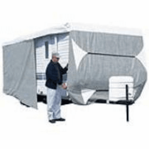 "Sweetwater 24 25 26 27 Ft Travel Trailer All Weather Camper Cover, 105"" Wide, 108"" Tall<BR>"
