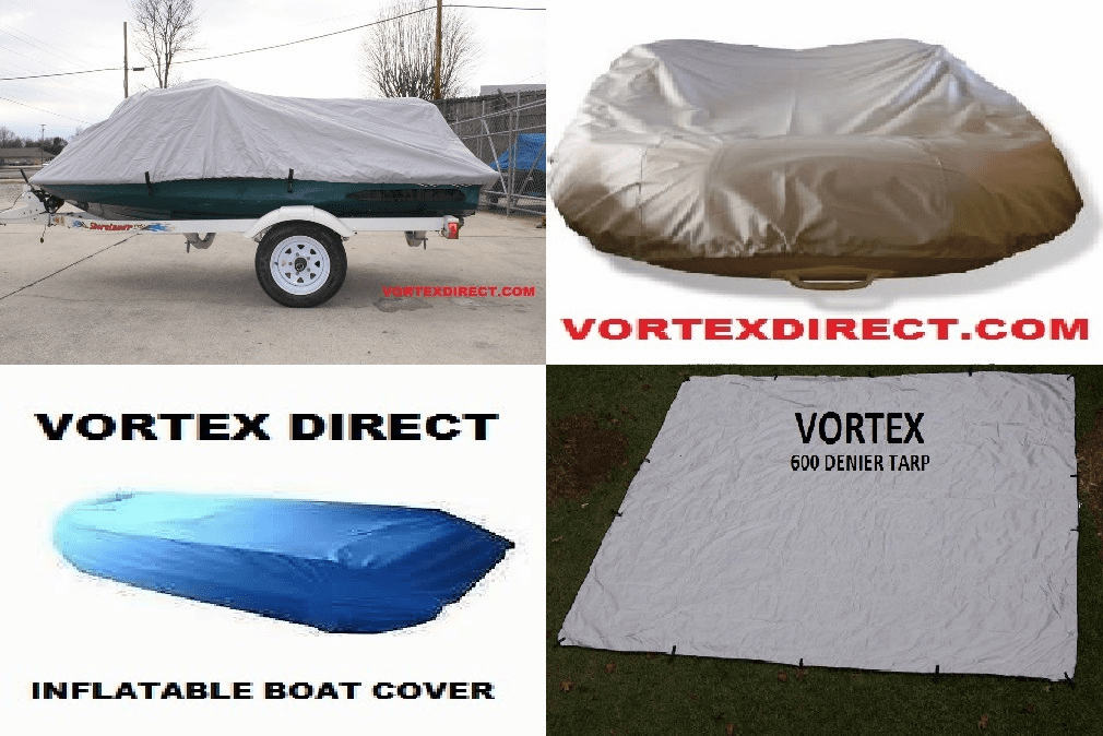 TARPS <br> JET SKI <br> PERSONAL WATERCRAFT <br> INFLATABLE DINGHY <br> BOAT COVERS