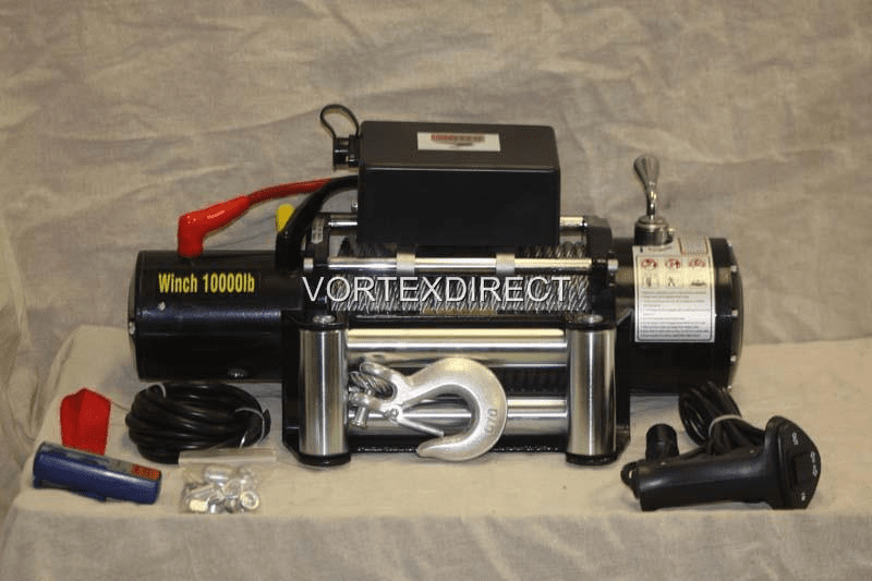 Vortex 9000 LB Pound Recovery Winch Bonus Package! 2 remotes <BR>***CALL FOR PRICING***
