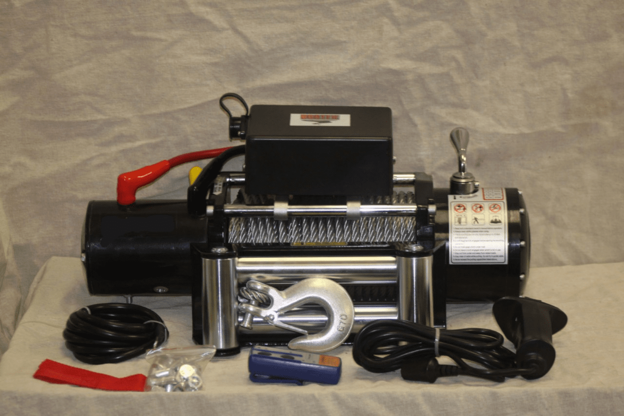 Vortex 9500 LB Pound Recovery Winch Bonus Package! 2 remotes<BR> ***CALL FOR PRICING***