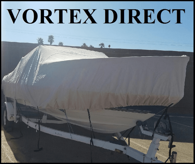 "VORTEX HEAVY DUTY CUDDY CABIN BOAT COVER 25'7"" to 26'6""<BR>"