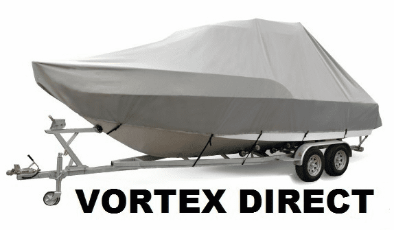VORTEX HEAVY DUTY T-TOP CENTER CONSOLE BOAT COVER FOR 18' - 19' BOAT ( FAST SHIPPING - 1 TO 4 BUSINESS DAY DELIVERY )