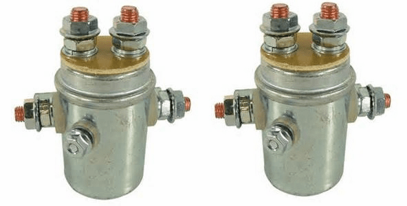 VORTEX REPLACEMENT SOLENOID SET FOR 5000LB TO 12000LB WINCH **FREE SHIPPING**