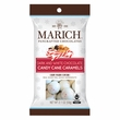 Marich Dark and White Chocolate Candy Cane Caramels - Single Serve