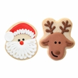 The Decorated Cookie - Santa and Reindeer Assortment