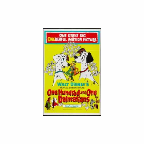 101 Dalmations Movie Poster 11x17 Mini Poster
