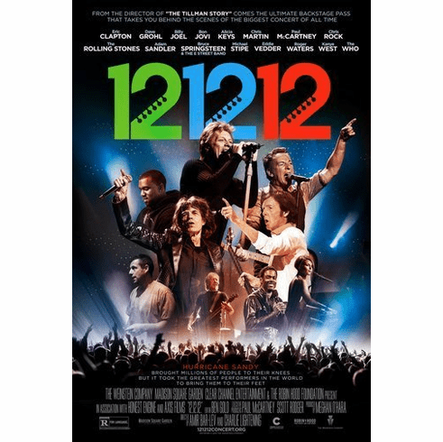 12 12 12 Concert Movie Poster 11Inx17In Mini Poster