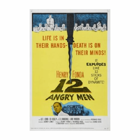12 Angry Men Movie 11inx17in Mini Poster #01