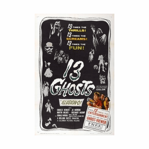 13 Ghosts Movie Poster 11x17 Mini Poster