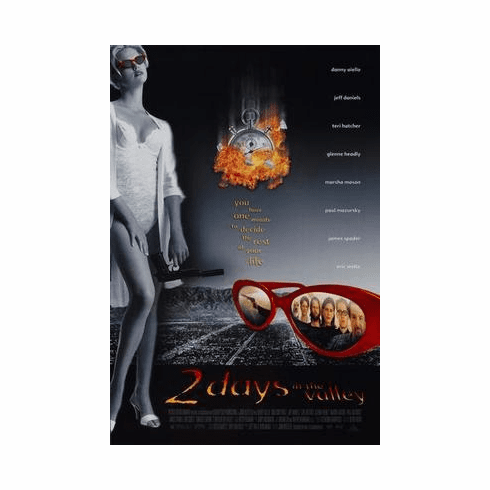 2 Days In The Valley Movie Poster 24in x36 in