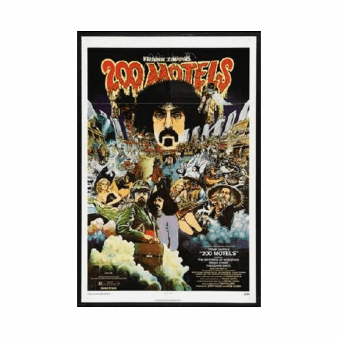 200 Motels Mini Poster #01 Frank Zappa 11inx17in Mini Poster