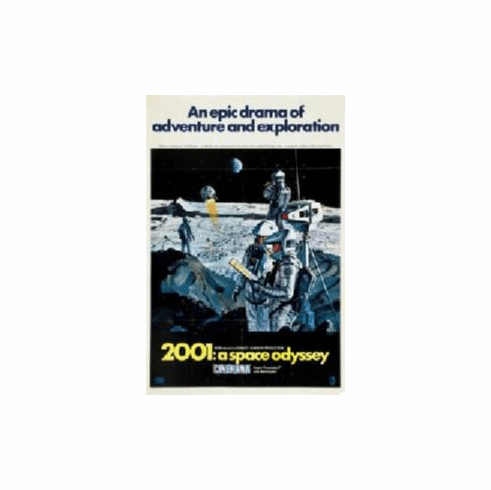 2001 A Space Odyssey Movie Poster 11x17 Mini Poster