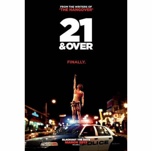21 and over Mini Poster 11inx17in poster