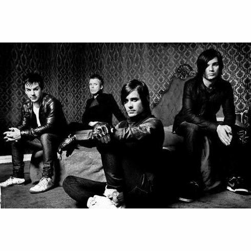 """30 Seconds To Mars Black and White Poster 24""""x36"""""""