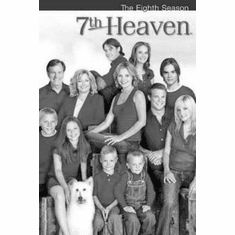 """7Th Heaven Black and White Poster 24""""x36"""""""