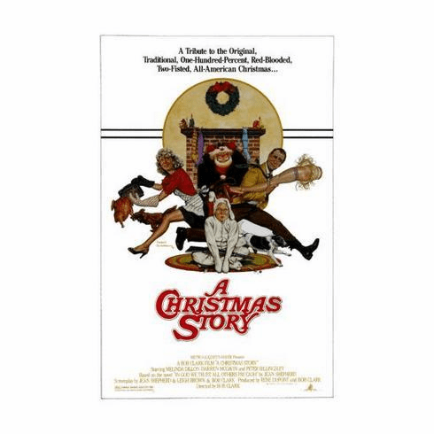A Christmas Story Movie Poster 11x17 Mini Poster