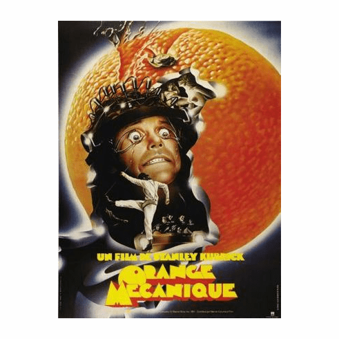 A Clockwork Orange Movie Poster French 11x17 Mini Poster