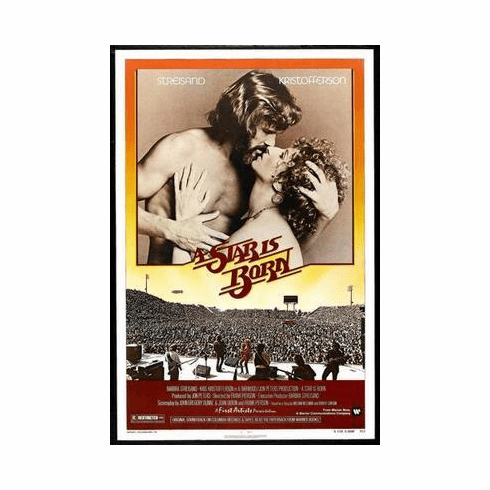 A Star Is Born Movie Poster Streisand 24in x36 in