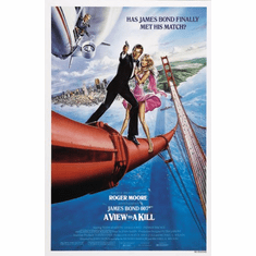 A View To A Kill Movie Poster James Bond 24inx36in