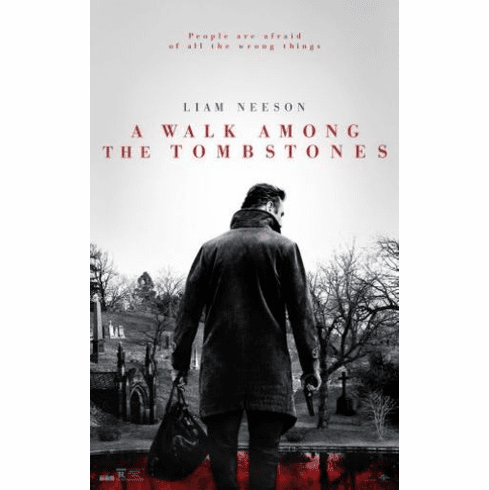 A Walk Among The Tombstones 11inx17in Mini Poster