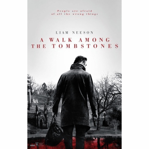 A Walk Among The Tombstones Movie poster 24inx36in Poster