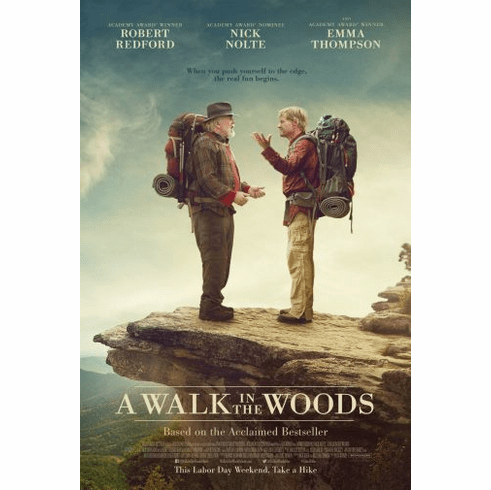 A Walk In The Woods Movie Poster 24in x36in