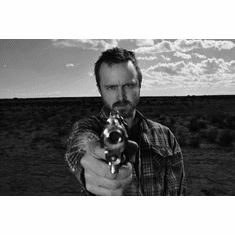 "Aaron Paul Black and White Poster 24""x36"""