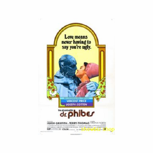 Abominable Dr Phibes Movie Poster 11x17 Mini Poster