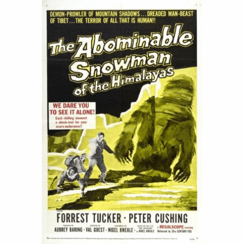 Abominable Snowman The 11inx17in Mini Poster