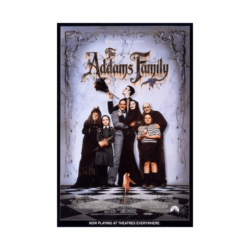 Addams Family Movie Poster 24in x36 in