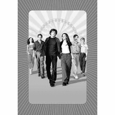 "Adventureland Black and White Poster 24""x36"""
